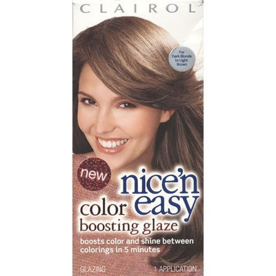 Clairol Nice 'n Easy Color Boosting Glaze For Dark blonde to light brown hair #6