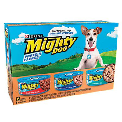 Mighty Dog 5.5oz Variety, 12 ea, 4.15 LB