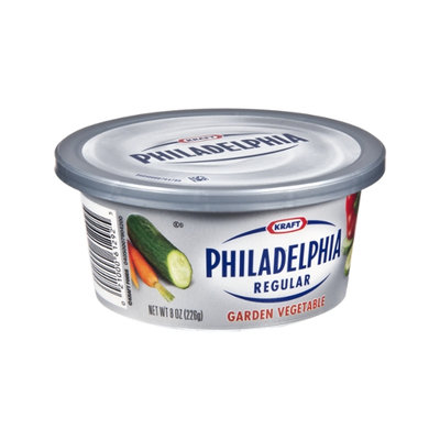 Kraft Philadelphia Regular Garden Vegetable Cream Cheese