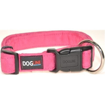 Dogline Comfort Microfiber Soft Padded Pet Puppy Dog Collar Nylon Reinforecement (4 sizes and 8 colos available)