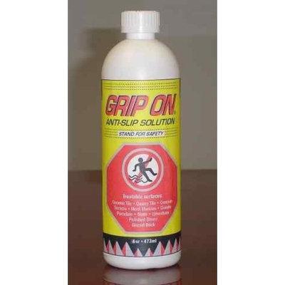 Grip On Anti-Slip Solution No Slip Floor Treatment, 4 Oz.