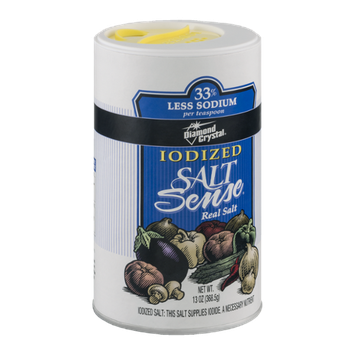 Diamond Crystal Iodized Salt Sense Real Salt