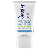 Supergoop! Skin Soothing Mineral Sunscreen Broad Spectrum SPF 40 2.4 oz