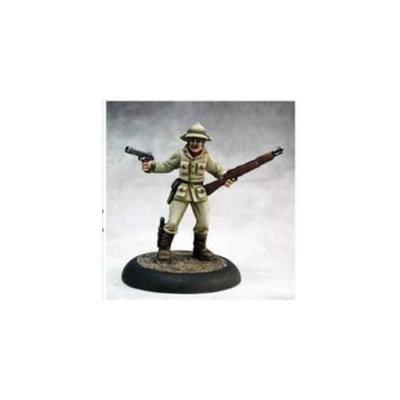 Reaper Miniatures 50295 Chrono Dan Mcdermott, Pulp Era Hero