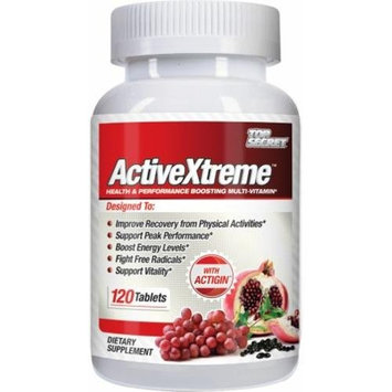 Top Secret Nutrition 1272897 Activextreme Multivitamin 120 Tablets