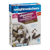 Weight Watchers Cereal Chocolate Frosted Shredded Wheat