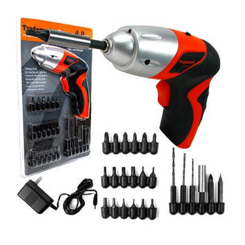 Trademark Tools 25 piece 4.8V Cordless Screwdriver with LED