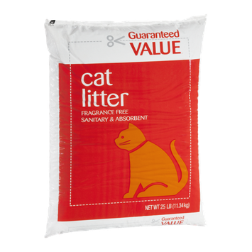 Guaranteed Value Cat Litter Fragrance Free