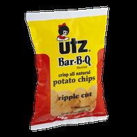 Utz Bar-B-Q Potato Chips Ripple Cut