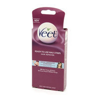 Veet Ready to Use Wax Strips Hair Remover for Body