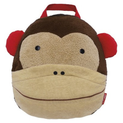Zoo Toddler Travel Blanket with Pillow - Monkey by Skip Hop