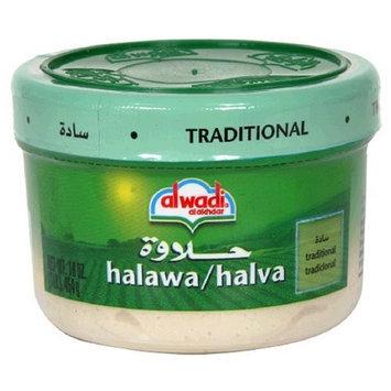 Al Wadi Alwadi Al Akhdar Halawa/Halva, Traditional, 16-Ounce (Pack of 6)