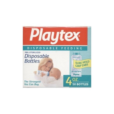 PLAYTEX ULTRASEAL CURVED DISPOSABLE LINERS 4 OZ