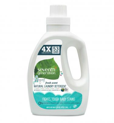 Seventh Generation Baby Natural 4X Laundry Detergent