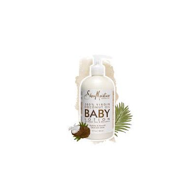 SheaMoisture 100% Virgin Coconut Oil Baby Lotion with Sweet Pea & Murumuru Hydrate & Nourish Delicate Skin