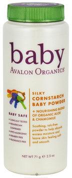 Avalon Organics Baby Silky Cornstarch Baby Powder