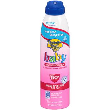Banana Boat Baby Ultramist Continuous Lotion Spray Sunscreen Tear Free