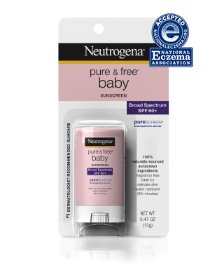 Neutrogena Pure & Free Baby Sunblock Stick Broad Spectrum SPF 60+