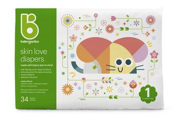 babyganics skin love diapers size 1