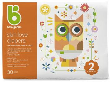 babyganics skin love diapers size 2