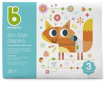 babyganics skin love diapers size 3