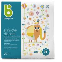babyganics skin love diapers size 5