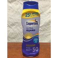 Coppertone Sunscreen Lotion Ultra Guard Broad Spectrum SPF 50, 10 fl oz (296mL)