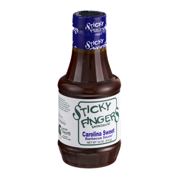 Sticky Fingers Smokehouse Barbecue Sauce Carolina Sweet