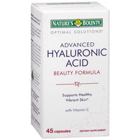 Nature's Bounty Optimal Solutions Advanced Hyaluronic Acid Beauty Formula, Capsules, 45 ea