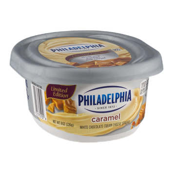 Philadelphia White Chocolate Cream Cheese Spread Caramel
