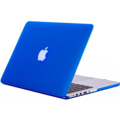 Kuzy - Retina 13-Inch BLUE Rubberized Hard Case for MacBook Pro 13.3