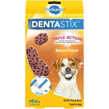 Pedigree® Dentastix™ Bacon Flavor Dog Treat (All Dog Sizes)