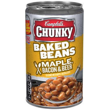 Campbell's® Chunky Baked Beans with Maple Bacon & Beer