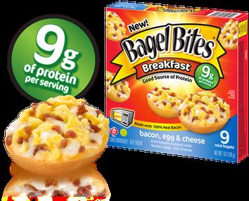 Bagel Bites Breakfast Bacon, Egg & Cheese