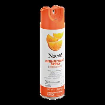 Nice! Disinfectant Spray Citrus