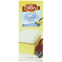 Tone's Vanilla Clear Imitation, 4-Ounce Bottles (Pack of 6)