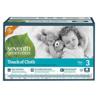 Seventh Generation Touch of Cloth™ Size 3 Baby Diapers