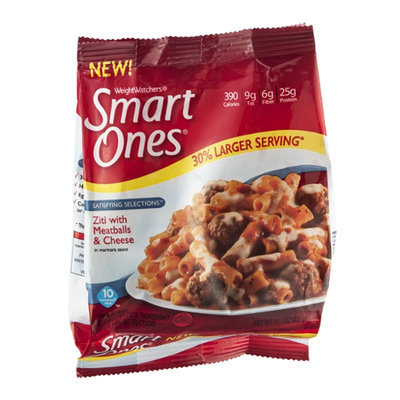 Weight Watchers Smart Ones Satisfying Selections Ziti with Meatballs & Cheese