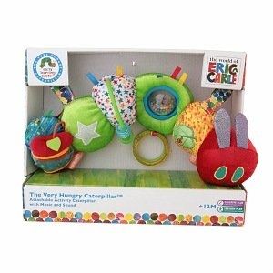 World of Eric Carle The Very Hungry Caterpillar Attachable Activity Caterpillar