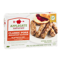 Applegate Naturals Classic Pork Breakfast Sausage - 10 CT