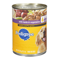 Pedigree Choice Cuts in Gravy with Lamb & Vegetables Dog Food