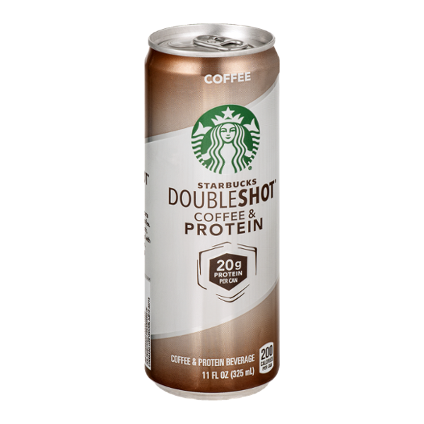 Starbucks Doubleshot Coffee Protein Beverage Coffee