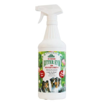 Cardinal Laboratories Pet Botanics Outdoor Bitter End Spray, 32 Ounces