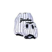 Sporty K9 New York Yankees Baseball Dog Jersey, XX-Small