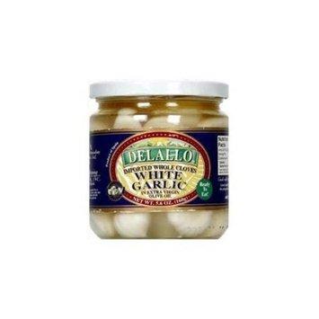 Delallo Garlic Clove Whl In Oil -Pack of 12