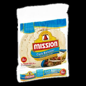 Mission Carb Balance Medium Soft Taco Flour Tortillas - 8 CT