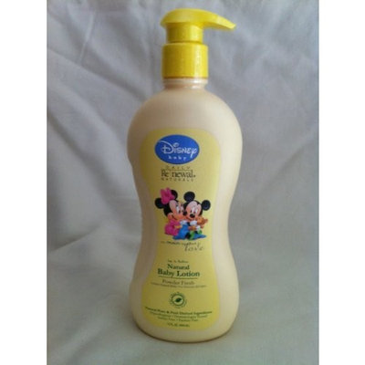 Disney Baby Daily Renewal Natural Baby Lotion ~ 15 Fl Oz ~ Powder Fresh