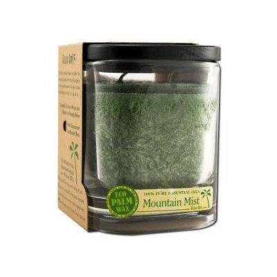 Eco Palm Square Jar, Mountain Mist Dark Green 8 oz by Aloha Bay