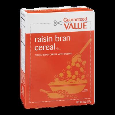 Guaranteed Value Raisin Bran Cereal