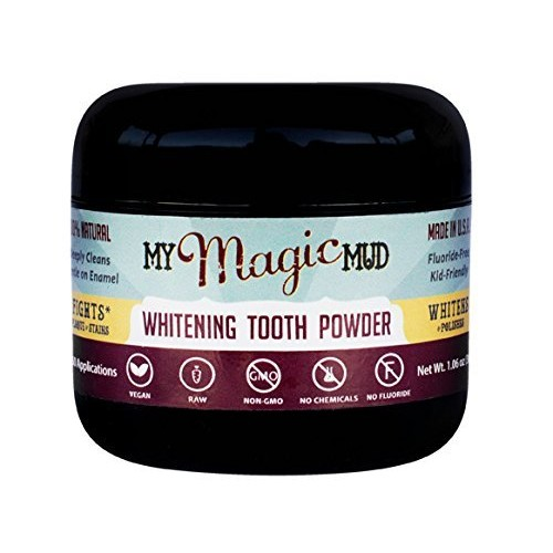 My Magic Mud Whitening Tooth Powder - 1.06 oz (30 grams)